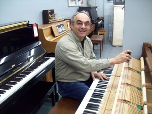Mike Telep Piano Tuner